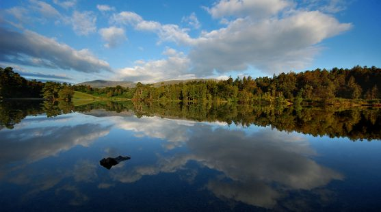 Visit Tarn Hows in Coniston whilst staying at Skelwith Fold Caravan Park