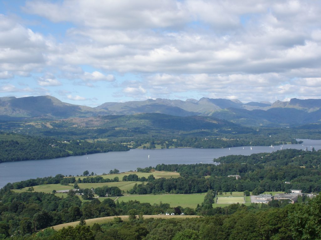 Visit Lake Windermere in the Lake District whilst staying at Skelwith Fold Caravan Park