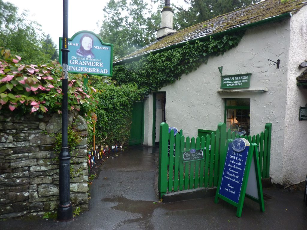 Visit Sarah Nelson's Grasmere Ginger Bread whilst staying at Skelwith Fold in the Lake District