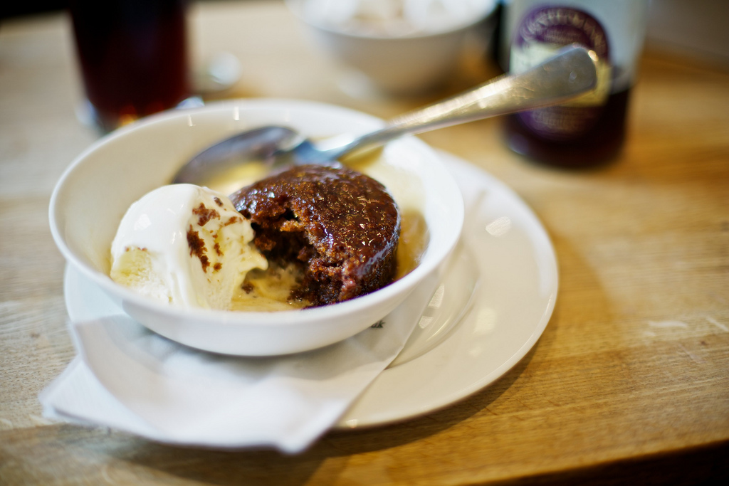 Visit Cartmel to try their famous Sticky Toffee Pudding whilst staying at Skelwith Fold