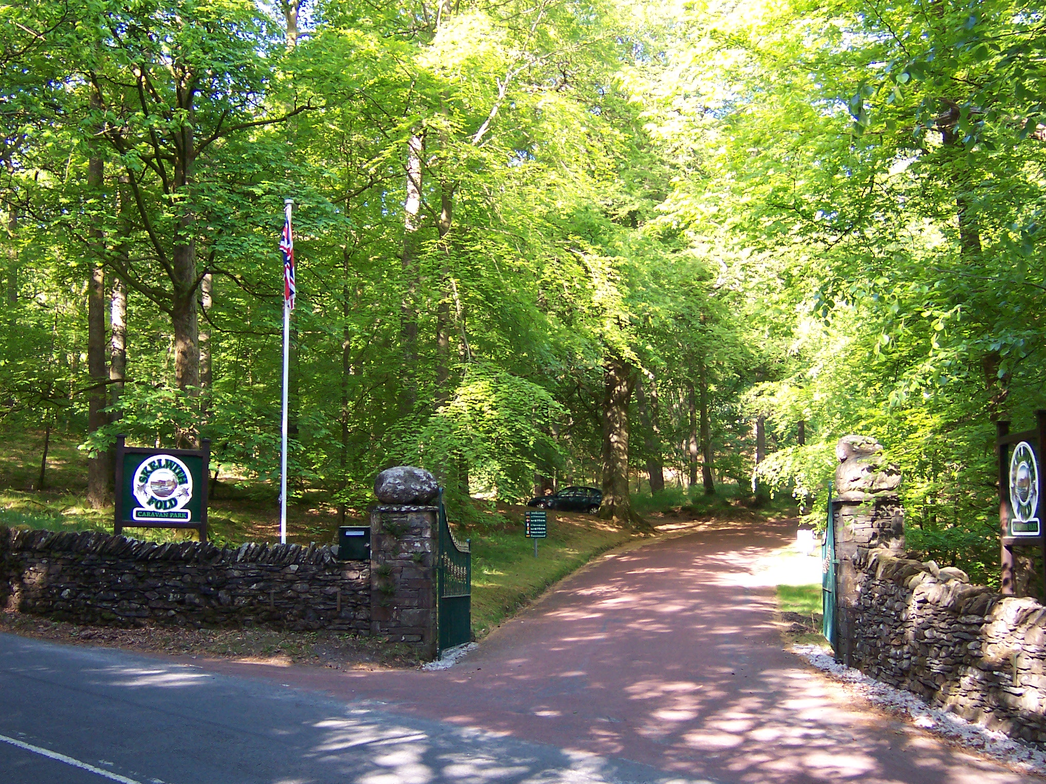 Skelwith Fold entrance Ambleside