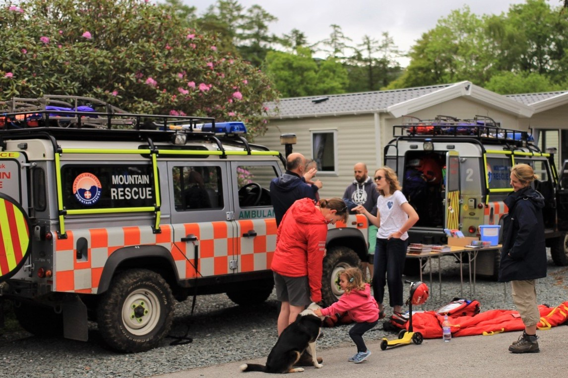 Langdale Ambleside Mountain Rescue Team at Skelwith Fold