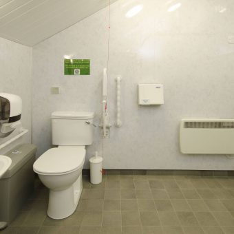 Spacious disabled facilities at Skelwith Fold