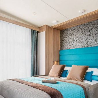 Modern, high quality interiors at Skelwith Fold Caravan Park