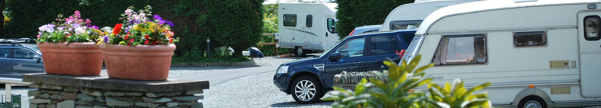Skelwith Fold Caravan Park motorhome touring pitches