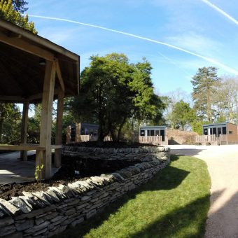Stay in one of our luxury woodland hideaways and enjoy a bbq!