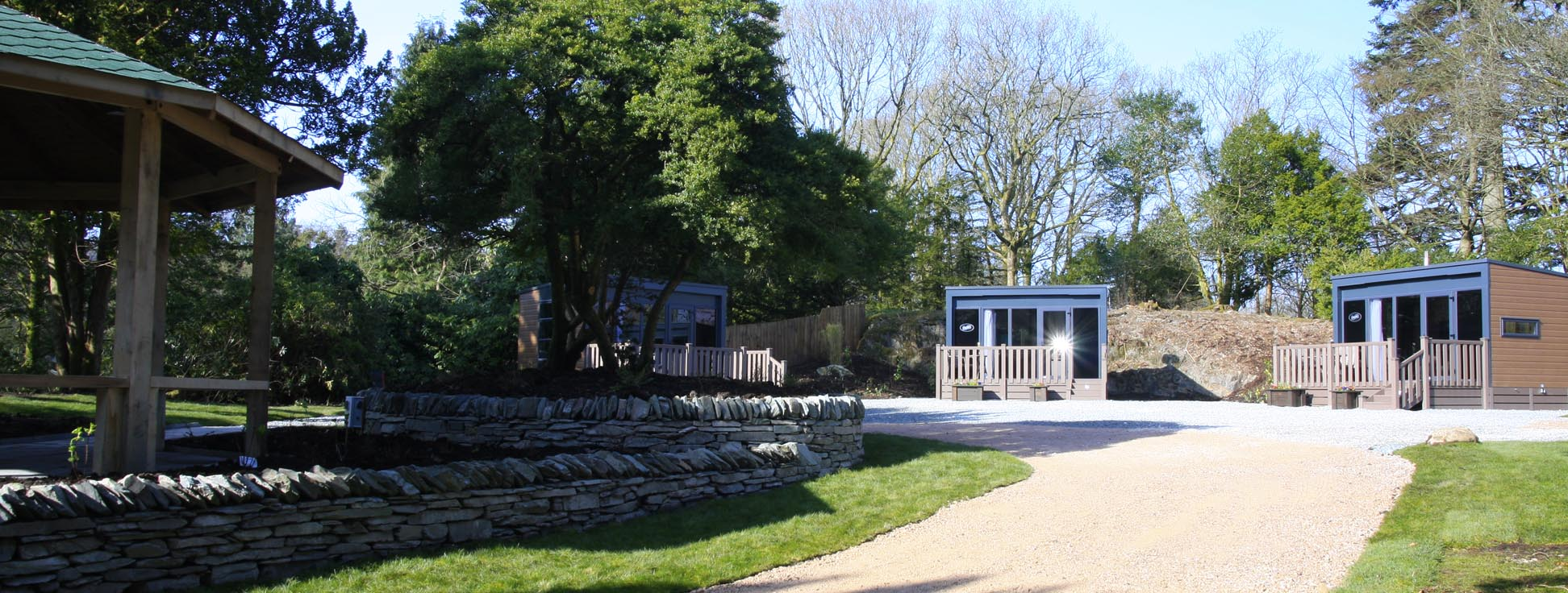 Skelwith Hideaway glamping pod