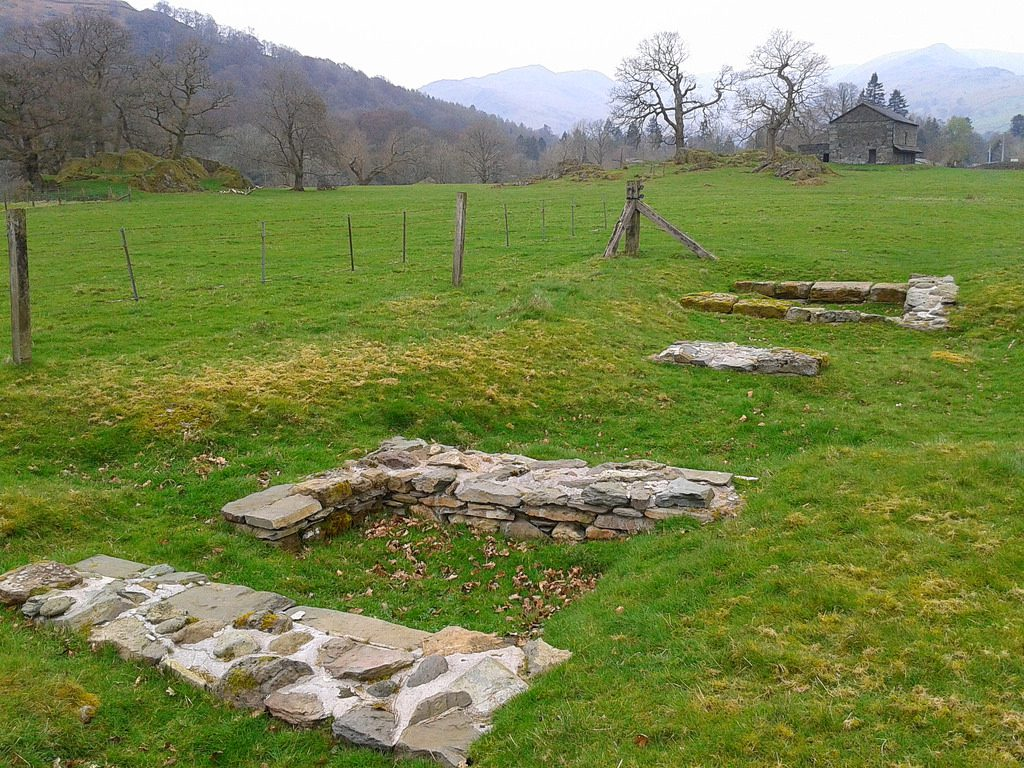 Things to Do in Ambleside – Roman fort ruins