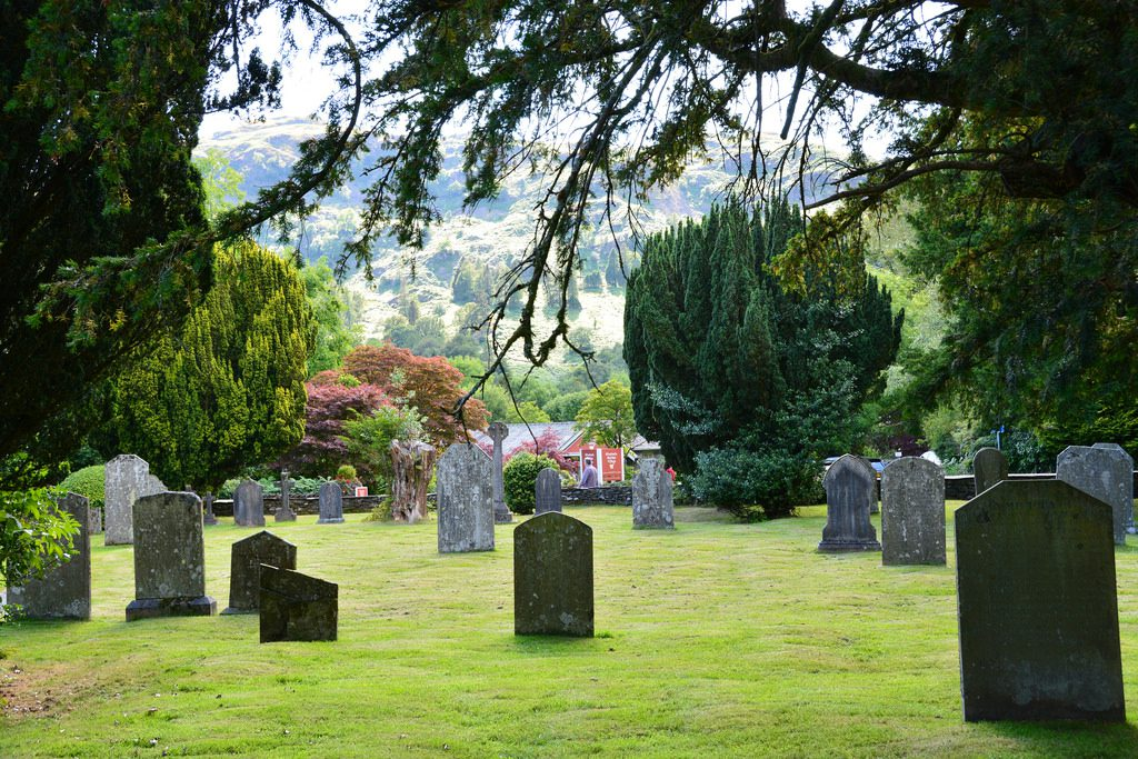 Things to Do in Grasmere – St Oswald's Church graveyard