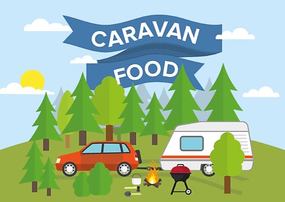Caravan Food Infographic