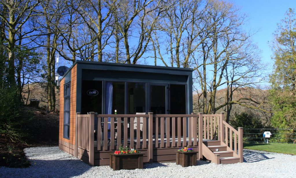 Hideaway Glamping in the Lake District at Skelwith Fold Caravan Park