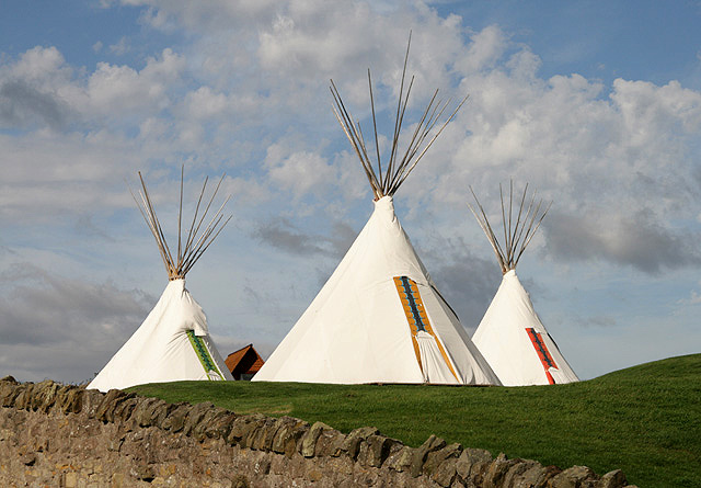 Glamping in Wigwams and Tipis