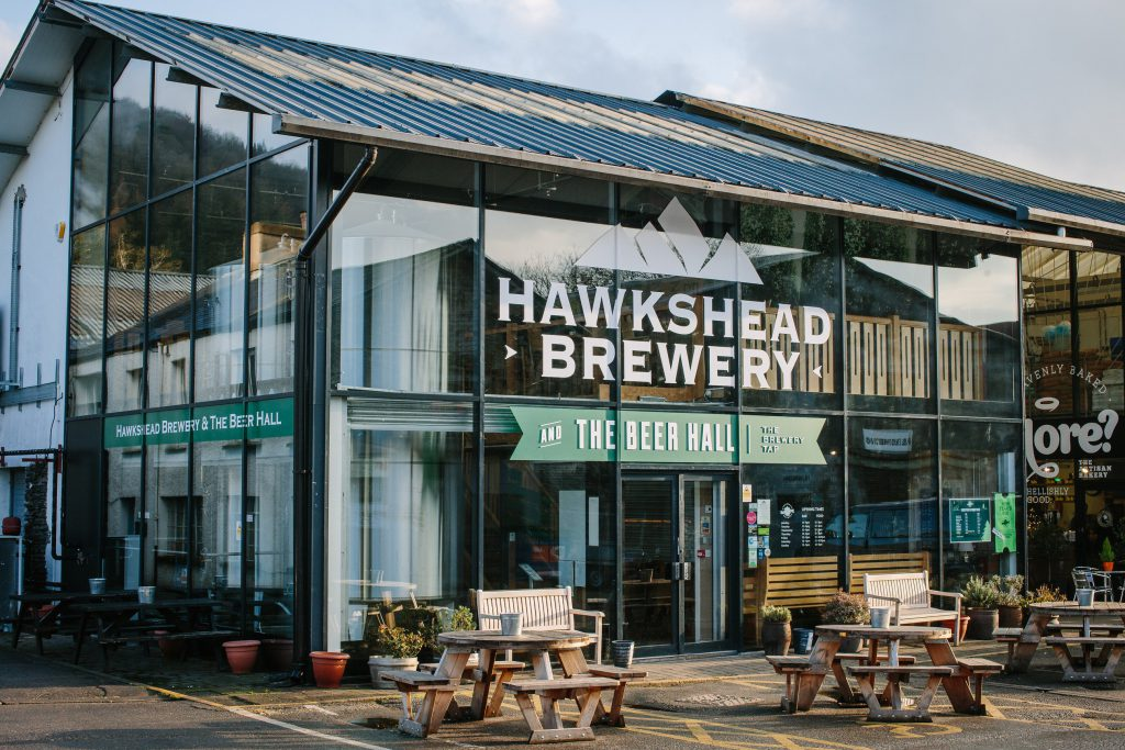 Visit the Hawkshead Brewery whilst staying at Skelwith Fold