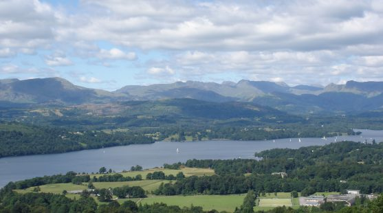 Visit Lake Windermere whilst staying at Skelwith Fold Caravan Park