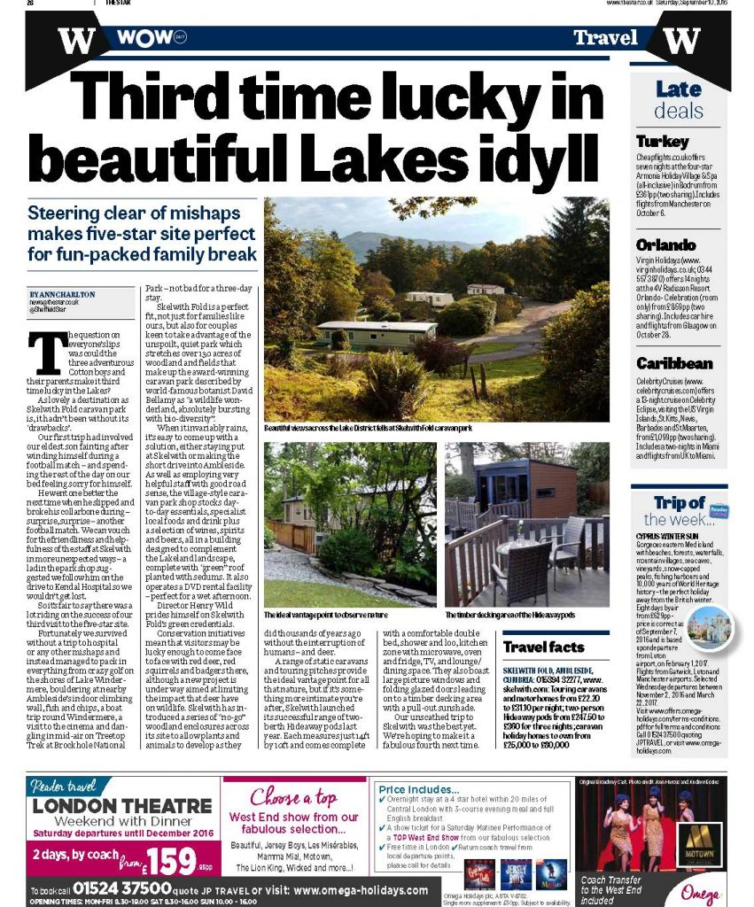 Skelwith Fold in the Shropshire Star