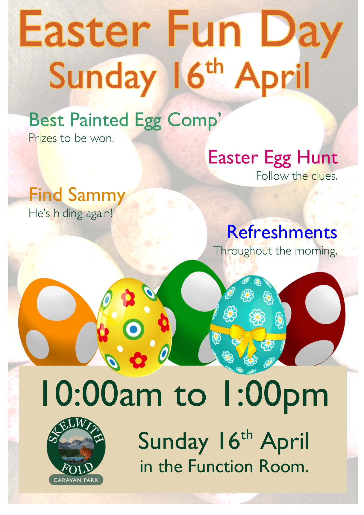 Easter Fun Day 2017 at Skelwith Fold