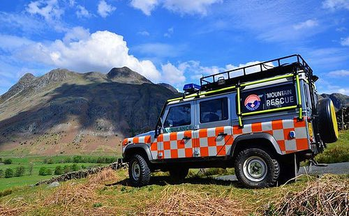 Langdale Ambleside Mountain Rescue Team at Skelwith Fold Caravan Park