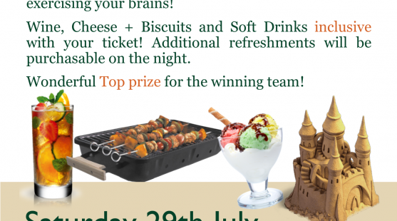 Summer Quiz – 29th July