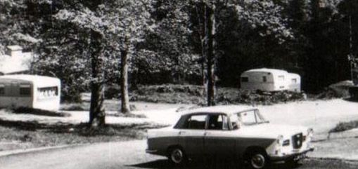Vintage cars and caravans