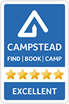 CampStead Logo Excellent rating