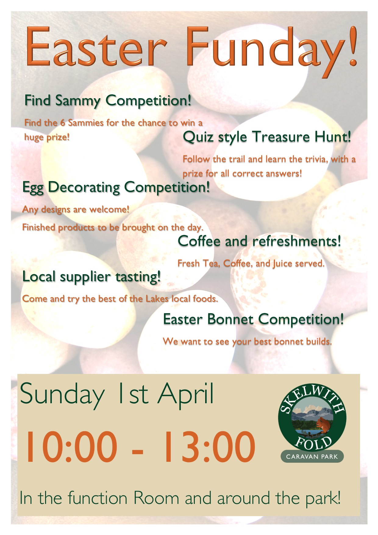 Easter Funday at Skelwith Fold Caravan Park