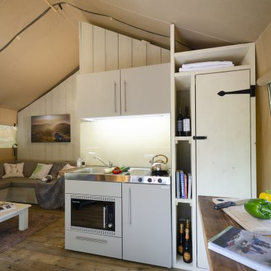 Safari Tent glamping - Facilities