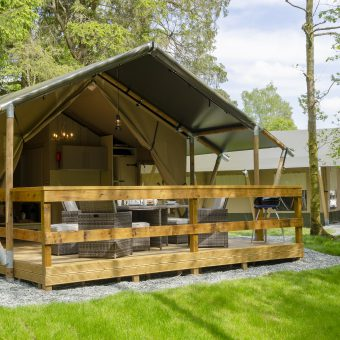 Safari Tents. Glamping at Skelwith Fold Ambleside Lake District