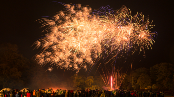 Fireworks at Skelwith Fold Caravan Park