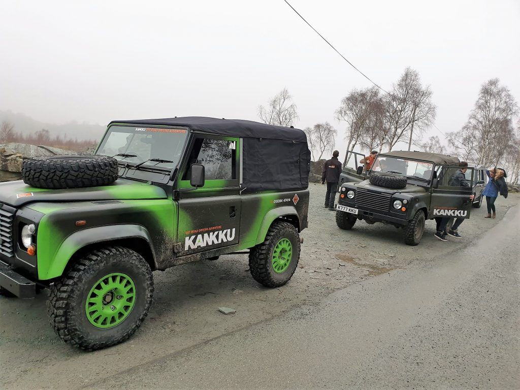 Kankku Group Off Road Drive Skelwith Fold