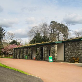 Shop and Reception at Skelwith Fold Caravan Park