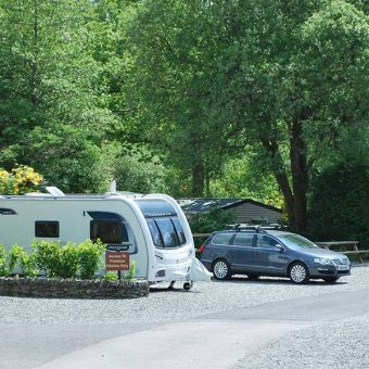 Touring Caravan at Skelwith Fold Caravan Park