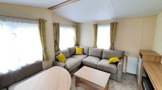 Lounge in Regal Lulworth 2020 on Pitch 33 at Skelwith Fold Caravan Park