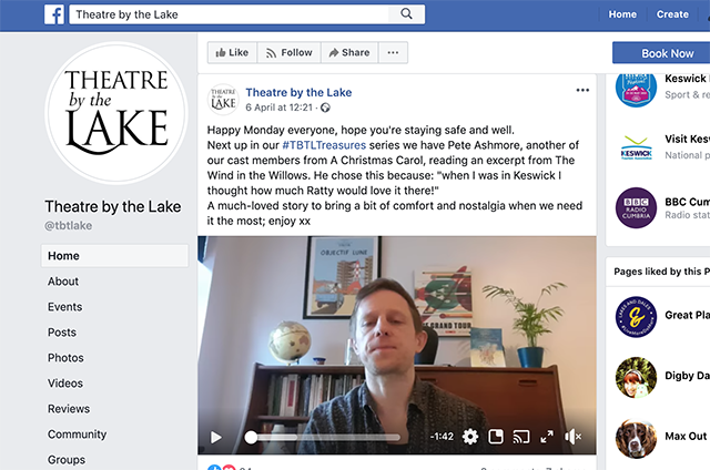 theatre by the lake facebook