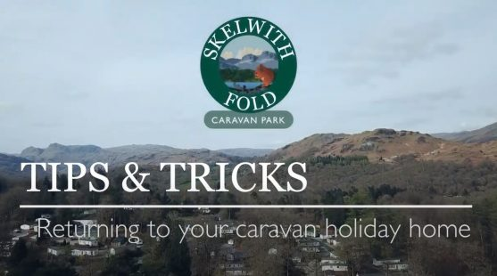 Returning to your caravan holiday home