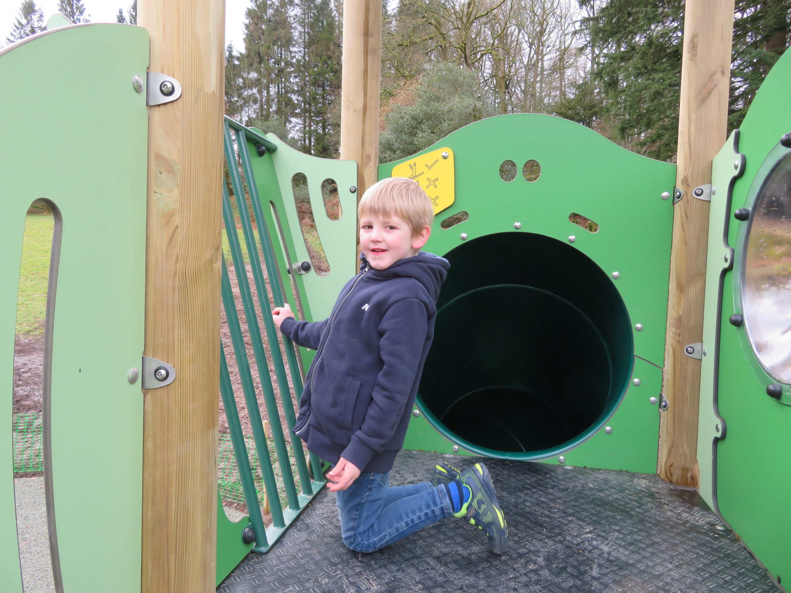 Skelwith adventure playground. Child friendly attractions in the Lakes.
