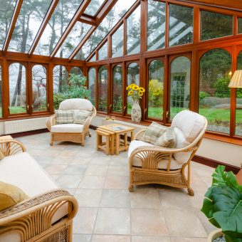 Number 1 Skelwith Fold Cottages Conservatory