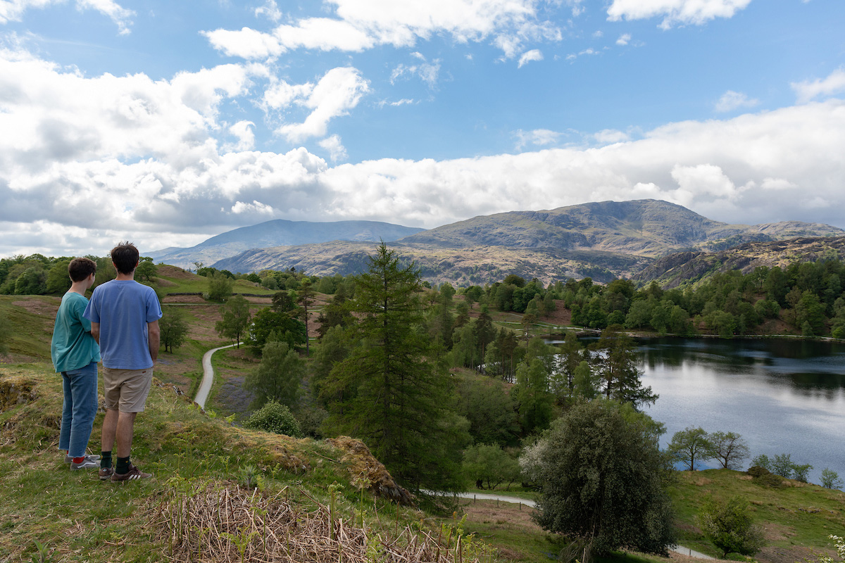 Tarn Hows. National Trust days out in the Lakes.