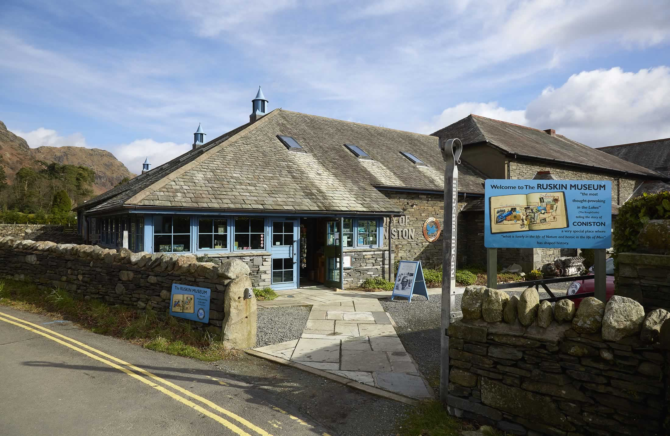 Ruskin Museum at Coniston