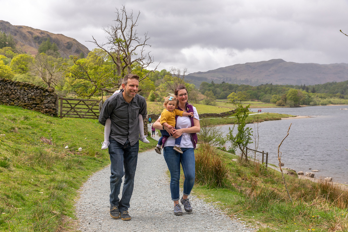 Family walks in the Lake District