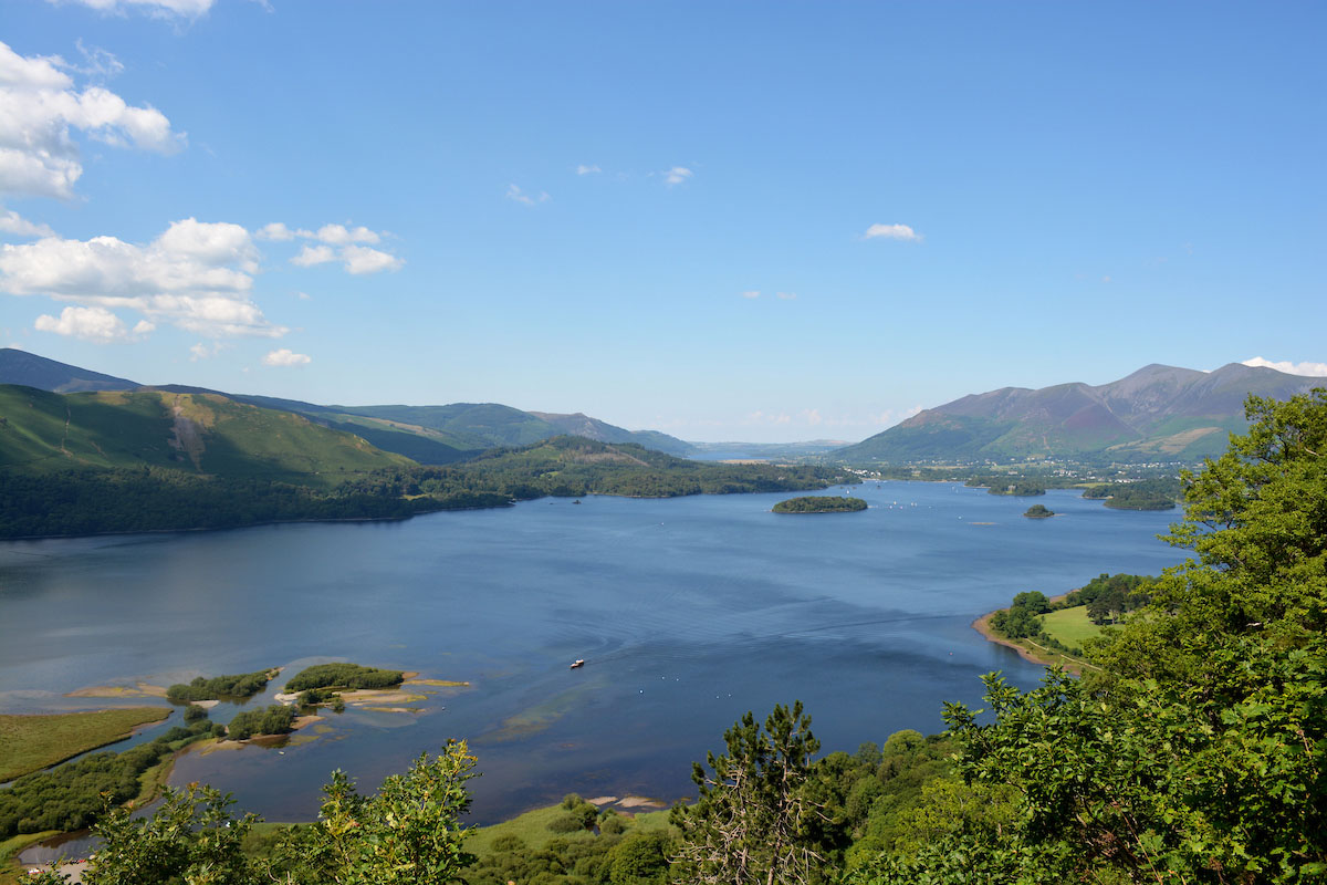 Surprise View. Scenic view points in the Lakes.